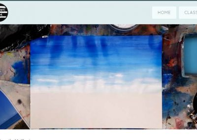 Acrylics Basics Online Class - Screenshots